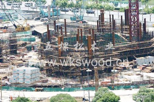 中国建筑工程总公司与五棵松携手合作
